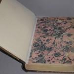 marmoriertes Vorsatzpapier